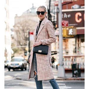 H&M textured weave coat